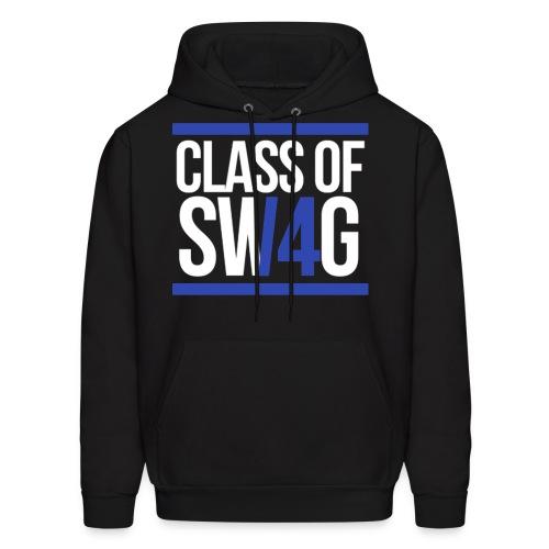 Class of Swag Blue Hoodie - Men's Hoodie