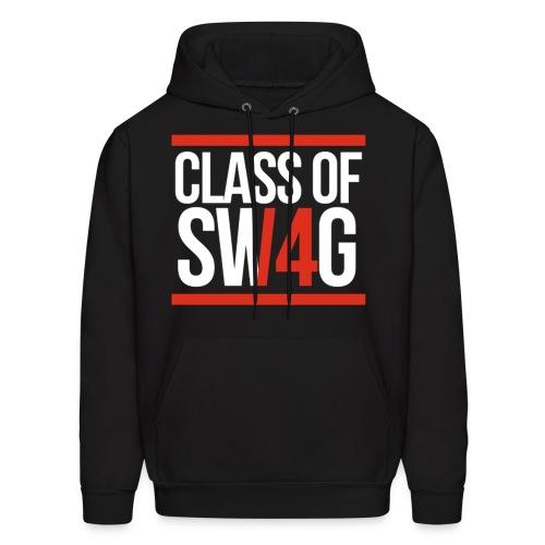 Class of Swag Red Hoodie - Men's Hoodie