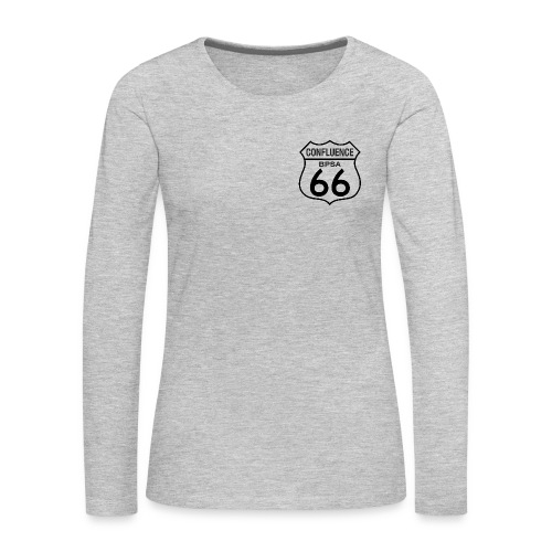 66th Confluence Women's LS Tee - Women's Premium Long Sleeve T-Shirt