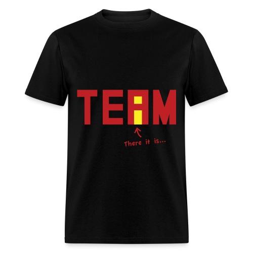 i in team tee - Men's T-Shirt