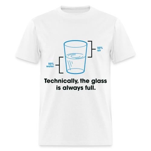 glass full tee - Men's T-Shirt