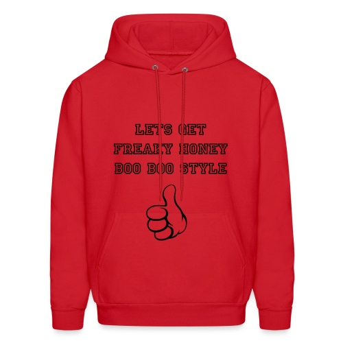 Lets Get Freaky Honey Boo Boo Style - Men's Hoodie