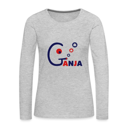 Ganja - Women's Premium Long Sleeve T-Shirt