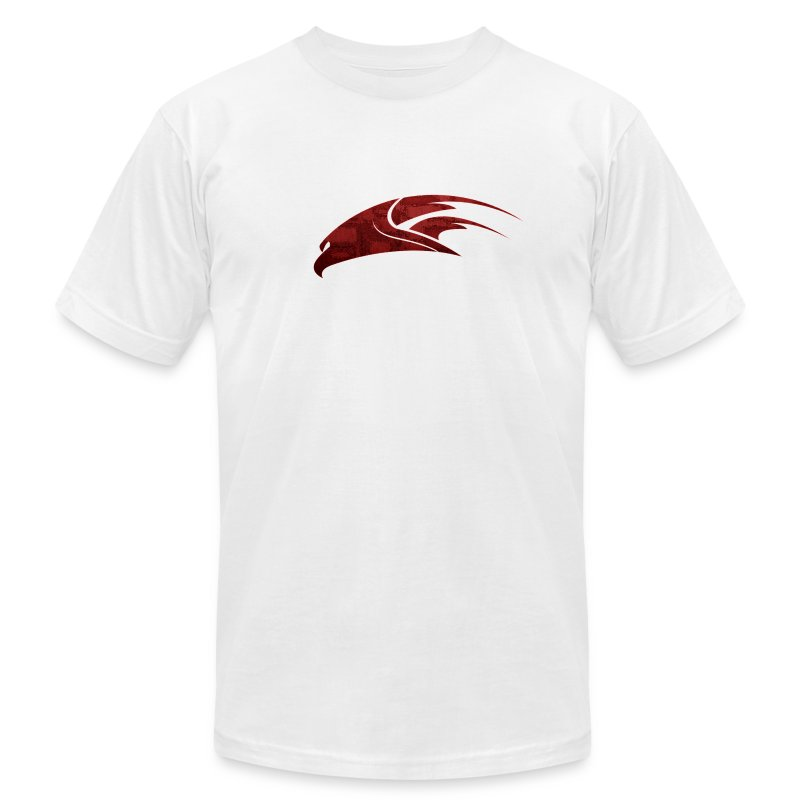 The Hawk - Digital Red (Men's) - Men's Fine Jersey T-Shirt