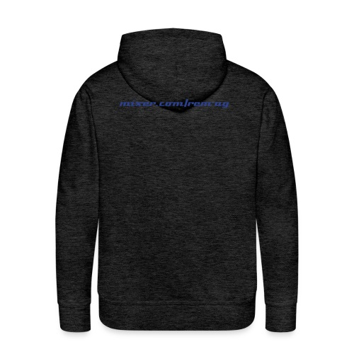 Rem-AG hoodie with newest logo and web address - Men's Premium Hoodie