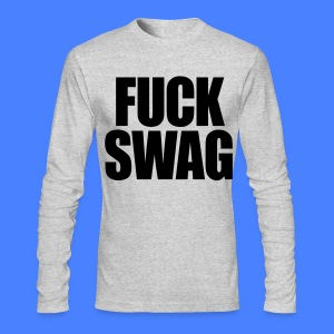 Fuck Swag Long Sleeve Shirts - stayflyclothing.com - Men's Long Sleeve T-Shirt by Next Level