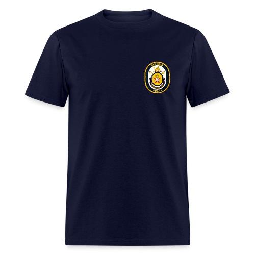 USS ROSS DDG-71 TEE - Men's T-Shirt