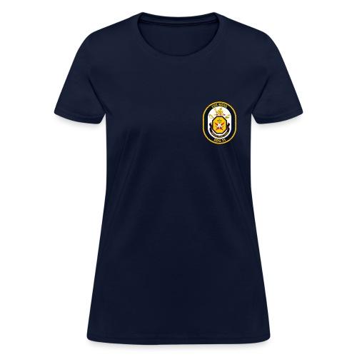 USS ROSS DDG-71 TEE - WOMENS - Women's T-Shirt