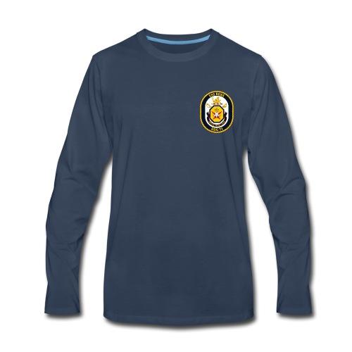 USS ROSS DDG-71 LONG SLEEVE - Men's Premium Long Sleeve T-Shirt