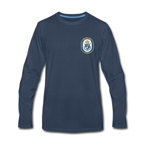 USS MAHAN DDG-72 LONG SLEEVE  - Men's Premium Long Sleeve T-Shirt