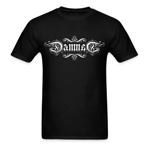 DAMNED Ambigram Logo - Men - Men's T-Shirt