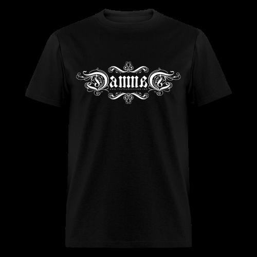 DAMNED Ambigram Logo - Men - Men's T-Shirt