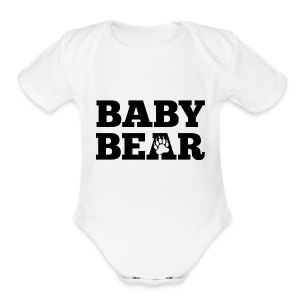 Baby Bear  - Short Sleeve Baby Bodysuit