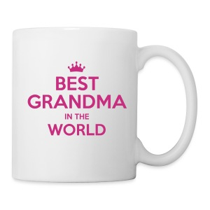 Best Grandma In The World Mug - Coffee/Tea Mug