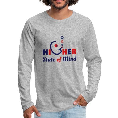 Higher State of Mind - Men's Premium Long Sleeve T-Shirt