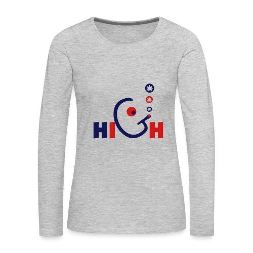 High - Women's Premium Long Sleeve T-Shirt