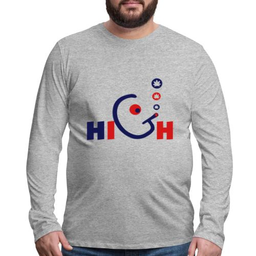 High - Men's Premium Long Sleeve T-Shirt
