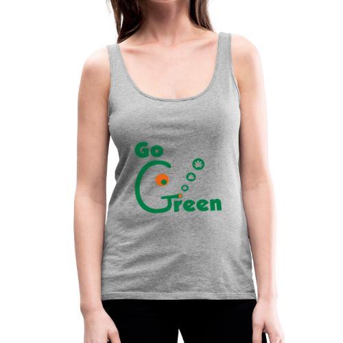 Go Green - Women's Premium Tank Top