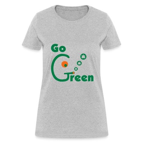 Go Green - Women's T-Shirt