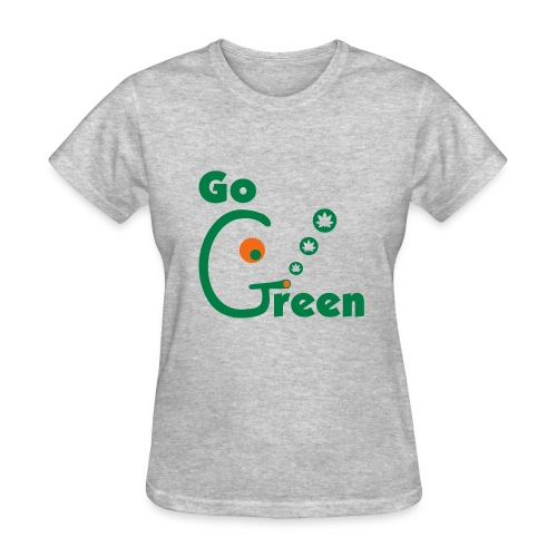 Go Green - Women's T-Shirt