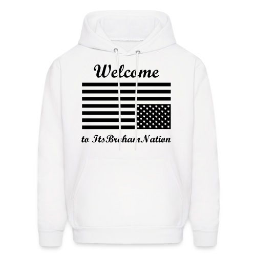Welcome to the Nation Hooded Sweatshirt - Men's Hoodie