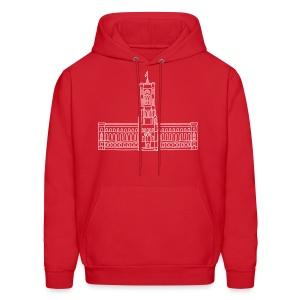 Red City Hall Berlin  - Men's Hoodie