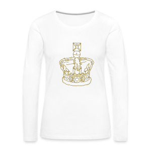 Crown - Women's Premium Long Sleeve T-Shirt