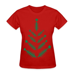 Christmas tree Women's T-Shirt - Women's T-Shirt