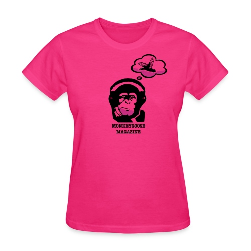 MONKEYGOOSE (Fuchsia Women's Tee) - Women's T-Shirt