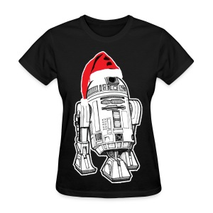 Droid Christmas (Men) - Women's T-Shirt