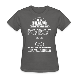 Poirot Women's T-Shirt - Women's T-Shirt