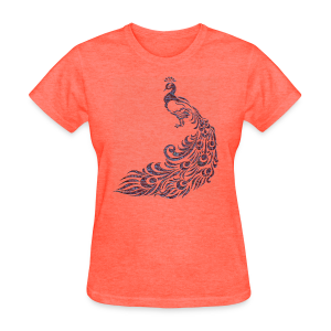 Vintage Peacock Women's T-Shirt - Women's T-Shirt