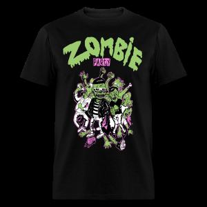 Zombie Party Men's T-Shirt - Men's T-Shirt