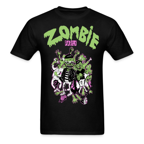 Zombie Party Men's T-Shirt - Men's T-Shirt