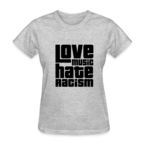 Love Music Hate Racism (Women) - Women's T-Shirt