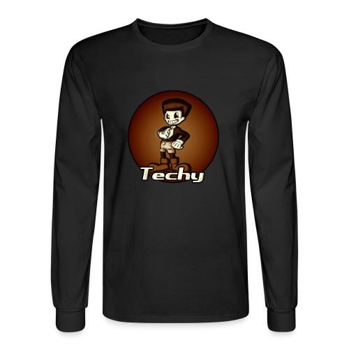 Techy men's long sleeve T-shirt - Men's Long Sleeve T-Shirt