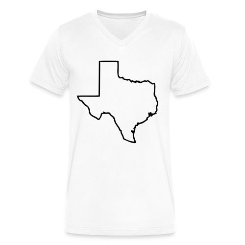 Texas V-Neck - Men's V-Neck T-Shirt by Canvas
