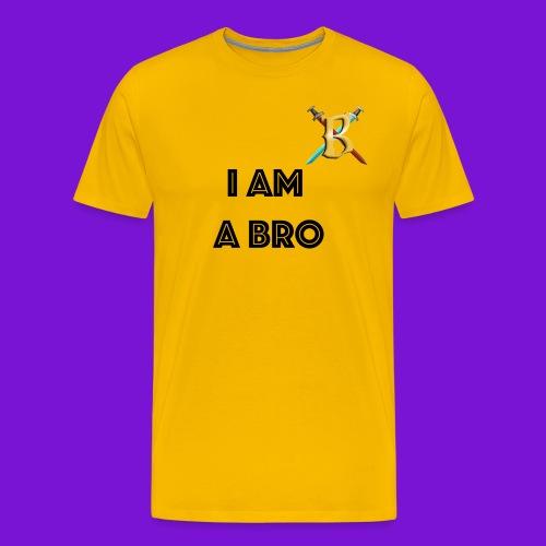 I Am A Bro Mens - Men's Premium T-Shirt