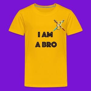 I Am A Bro kids - Kids' Premium T-Shirt