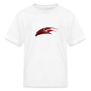 The Hawk - Digital Red (Kids) - Kids' T-Shirt