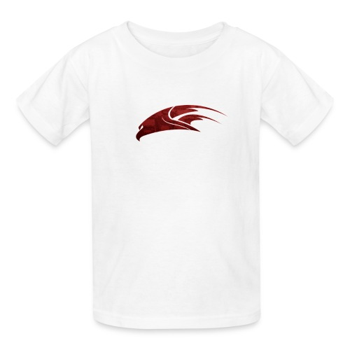 The Hawk - Digital Red (Kids) - Kids' T-Shirt