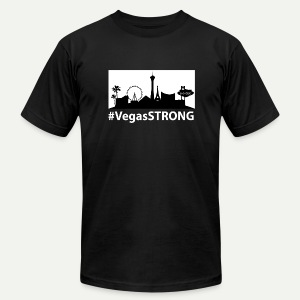 Vegas Strong - Men's Fine Jersey T-Shirt