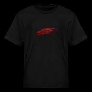 Kids' Shirts ~ Kids' T-Shirt ~ The Hawk - Digital Red (Kids)