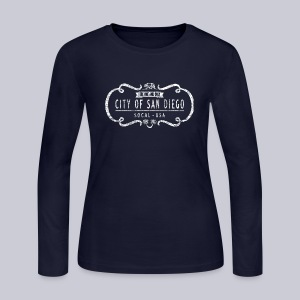 One and Only San Diego - Women's Long Sleeve Jersey T-Shirt