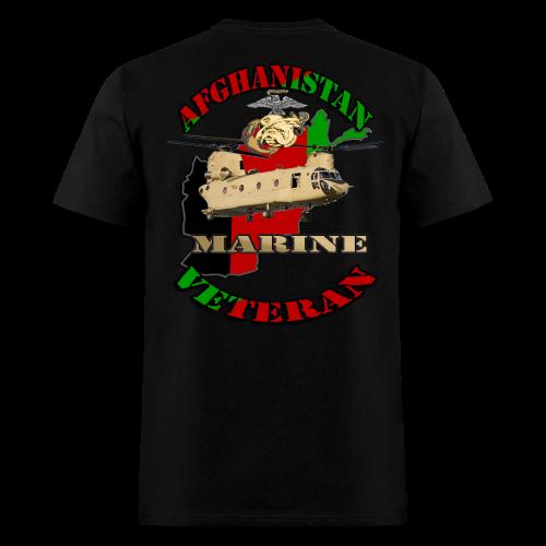 Afghanistan Marine Veteran - Men's T-Shirt