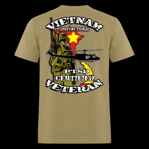 Vietnam Veteran PTSD Certified - Men's T-Shirt
