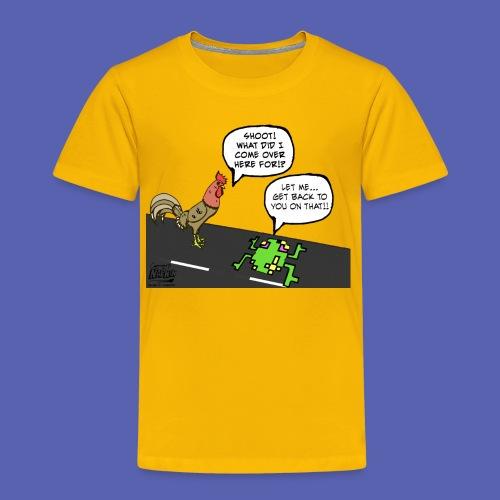 Why Chicken !?! Toddler size - Toddler Premium T-Shirt