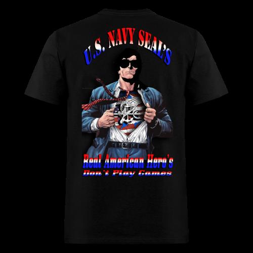 Navy Seals American Heros - Men's T-Shirt
