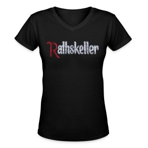 The Rat - Women's V-Neck T-Shirt