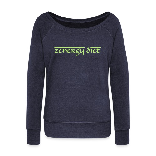 Women's Zen Wide Neck Sweatshirt - Women's Wideneck Sweatshirt